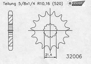 Regina Kettenkit Kit Suzuki GS 500 E/K/L ´88-93